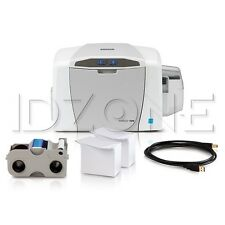 NEW Fargo 51700 C50 Single-Sided Printer with Supplies
