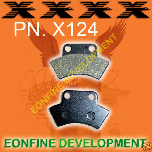 X124 Pastillas De Freno Para Polaris mayoría de los modelos Trasera 89-00 Atv