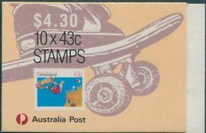 Australia-booklet-1989-SG1181-43c-Skateboarding-MNH