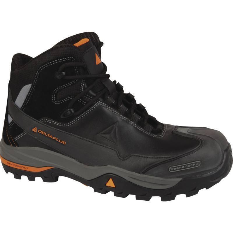 DELTA Plus TW400 Non Metallico Sicurezza Lavoro Escursionista Stivali (Taglie 7-12) Scarpe da uomo