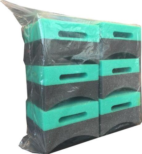 12 Pack Contour Tire Dressing Applicator Sponge TDA1-12