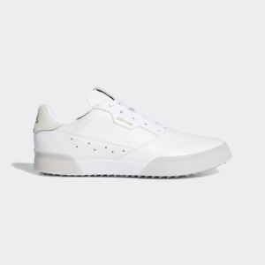 NEW Adidas Womens Adicross Retro Golf Shoe - White - Drummond Golf