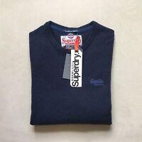 Mens Superdry Harrow Crew Neck Knit Jumper Top rrp £45