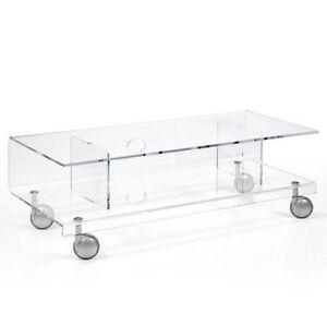 Carrello multiuso su ruote modello andy 6 di emporium in metacrilato tavolino ebay - Carrello sposta mobili ...