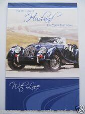 Brilliant Old Fashioned SPORTS CAR PER IL MIO BELLISSIMO marito compleanno auguri carta