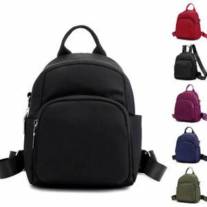 Convertible-Nylon-Small-Mini-Backpack-Rucksack-Shoulder-Bag-Travel-Purse-Cute