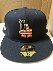 fe10778b Details about New Era 59Fifty Los Angeles Dodgers Stars and Stripes 4th of  July Fitted hat