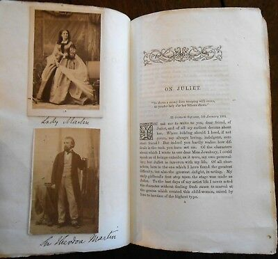 Other Entertainment Mem Have An Inquiring Mind Rare 1881 On Juliet Acting Booklet With 2 Actors Photos Signed Copy Shakespeare