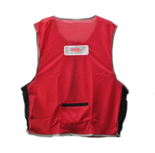 new Profile Design high visibility vest cycling L XL lightweight formfitting