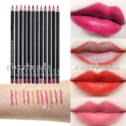 IMAGIC Cosmetic Professional Lipliner Waterproof Lip Liner Soft Pencil Makeup M*