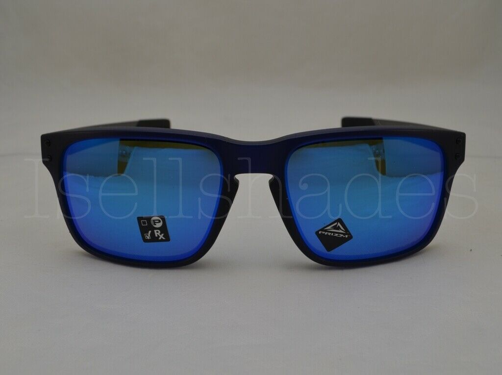 606b7116f3634 Oakley Sunglasses Holbrook Mix Oo9384-03 57mm Matte Blue Prizm ...