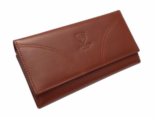 Femmes designer véritable soft black portefeuille en cuir véritable carte de crédit titulaire bourse