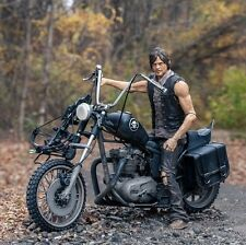 MCFARLANE-WALKING DEAD-DARYL DIXON-Norman Reedus-Action Figure & Motorcycle Set