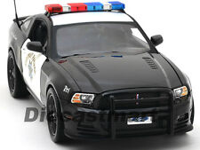 2013 FORD MUSTANG BOSS 302 HIGHWAY PATROL 1:18 CAR BY SHELBY COLLECTIBLES SC460