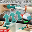 3PCS-Set-Silicone-Caulking-Finisher-Sealant-Cement-Scraper-Nozzle-Spatulas-Tool thumbnail 1