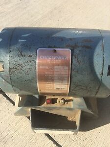 Vintage Challenger 6 Quot Bench Grinder By Wilton Used Ebay