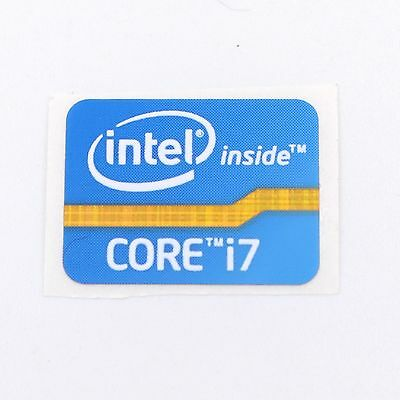 1000x Intel Inside Core i7 Sticker 15.5 x 21mm 2011 Version Blue ST021 Original