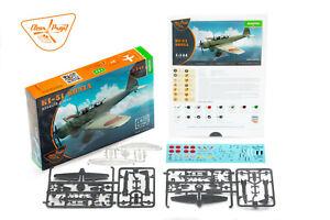 1//144 Clear Prop Models Ki-51 Sonia two kits in the box STARTER KIT CP144001