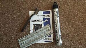 Lumiweld 20 Rod Kit - Low Temp Aluminuim Repair