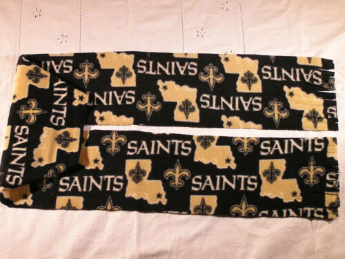 Louisiana Saints Fleece Scarf