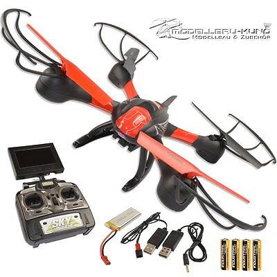 Sky Hawkeye Drohne Ufo Quadrocopter mit FPV Übertragung 4,5 Kanal HD Kamera 2,4G