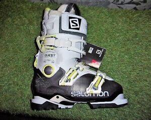 Adroit Chaussure De Ski Alpin Femme Salomon Quest Access 80 W Anth/trans Pointure 37 100% D'Origine