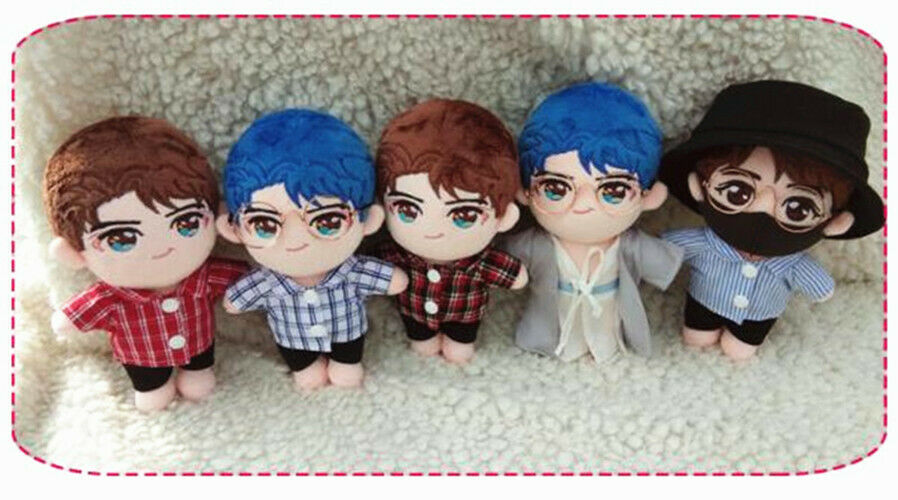 Hand-made The Untamed 陈情令 Doll Toy Clothes 王一博 Lanwangji Cosplay Stuffed Gift N