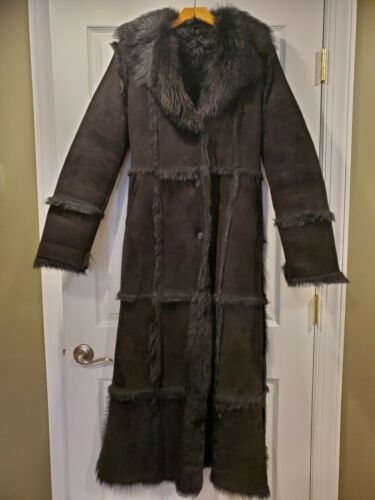 AUTHENTIC SHEARLING FULL LENGTH COAT by Umberto Ol