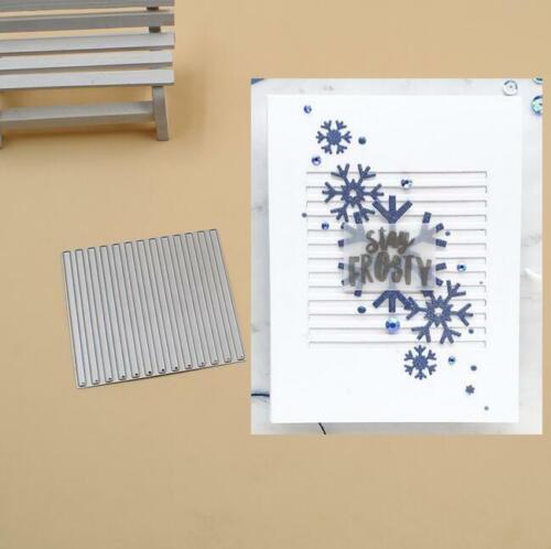 Square Grid Metal Cutting Dies Stencils Scrapbook Photo Album Embossing Die Cut