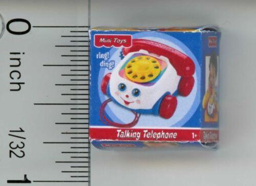 Dollhouse Miniature Children/'s Phone Toy by Cindi/'s Mini/'s