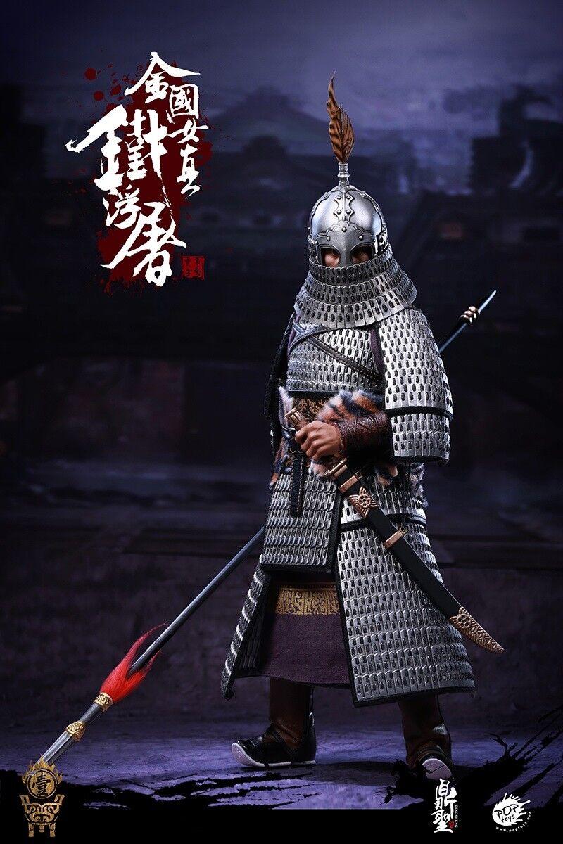 DINGSHENG TOYS×POPTOYS 1 6 DS001 The Jurchen Jin Dynasty Iron Iron Iron pagoda Figure IO 3a44c2