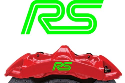 fiesta Ford RS Brake Caliper Decals Stickers x6 various colours Focus ST