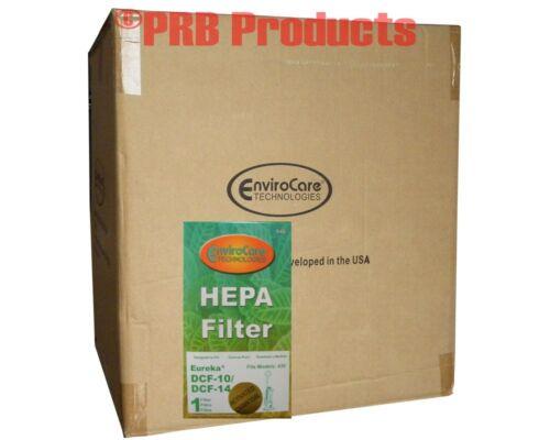 Eureka DCF 10 14 HEPA Filter 62731 A B Model Optima Pet Lovers Upright 430 431