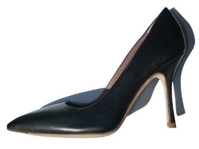 Giorgio Armani High HEELS schwarz Leder Simple and Elegant Elegant and EU 36 US ae7e2a