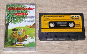 Kinderliederhitparade-Folge-2-1989-MC-Kinderchoere-Volkslieder-gebraucht