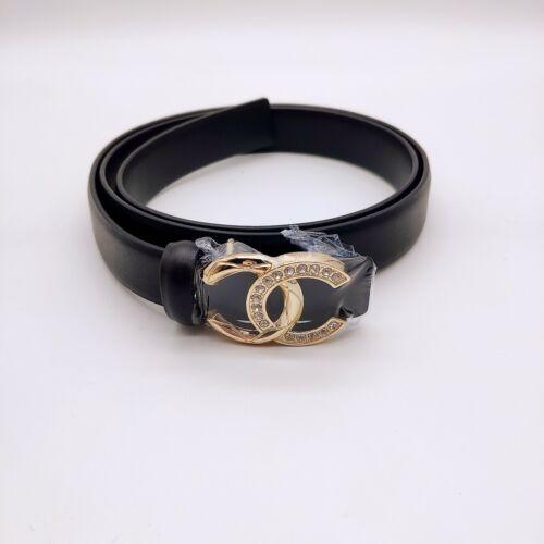 Women Chanel Belt Chanel Ladies Belt Color Black W