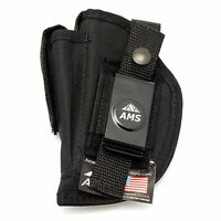 Gun Belt Clip Holster Carry Mag Pouch Conceal For Pistol Frame Barrel Many Sizes