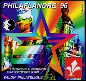 Industrieux Timbre France Bloc Cnep N°22 Neuf** Philaflandre (salon Philatélique De Lille ) Des Performances InéGales