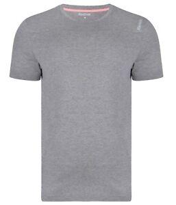 Gym Running Fitness Training Top Men/'s New Reebok Logo T-Shirt White