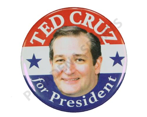 """2016 TED CRUZ for PRESIDENT 2.25/"""" CAMPAIGN BUTTON tcs"""
