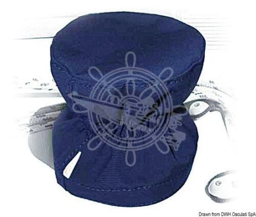 Oceansouth Winch Cover Self-Tailing 180 x 152 mm Blue