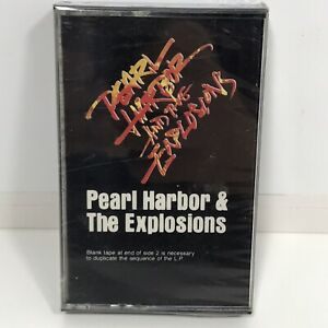Rare-Vintage-Pearl-Harbor-amp-The-Explosions-Cassette-Tape-Sealed-Pink-Rock-1980