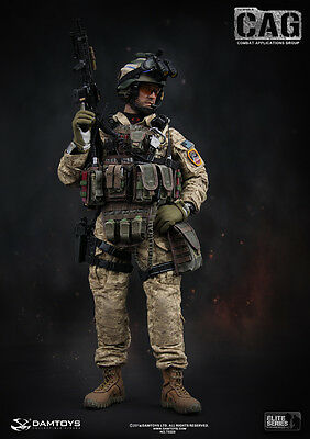 "DAM 1/6 Scale 12"" Elite Series 1st SFOD-D Combat Applications Group Figure 78009"