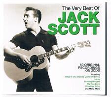 Jack Scott-The very best of...50 Original Recordings, Doppel CD Neuware