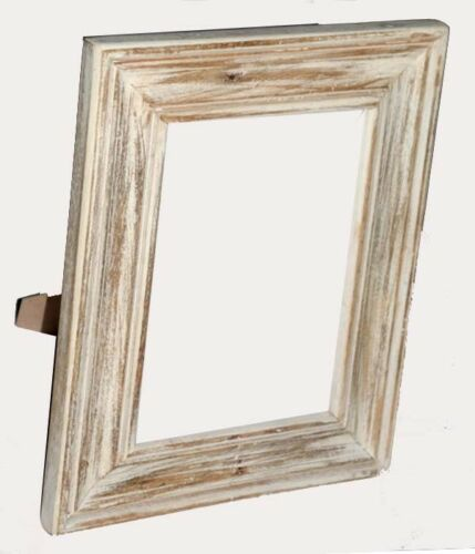 Distress Finish Antique Hand Made Wood Photo frame
