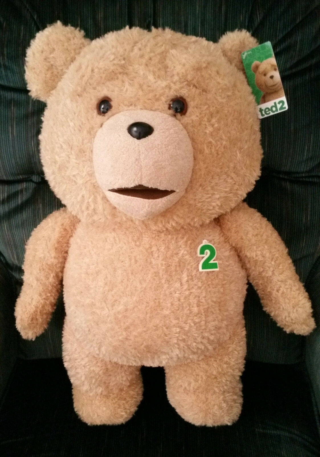 TED 2 - TED 24 INCH R RATED TALKING PLUSH TEDDY BEAR-  10.00 DISCOUNTED