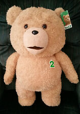 """TED 2""- TED 24 INCH R RATED TALKING PLUSH TEDDY BEAR- $10.00 DISCOUNTED!!!!"