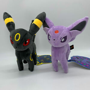 2X-Pokemon-Espeon-Umbreon-Plush-Soft-Toy-Doll-Teddy-Stuffed-Animal-9-034