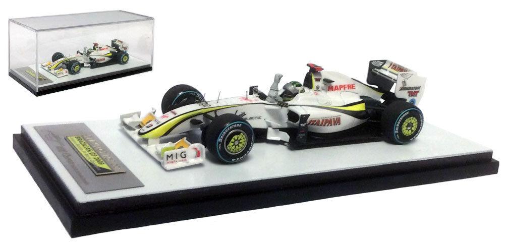 Tameo Brawn BGP001 Brazilian GP 2009 World Champion - Jenson Button 1 43 Scale