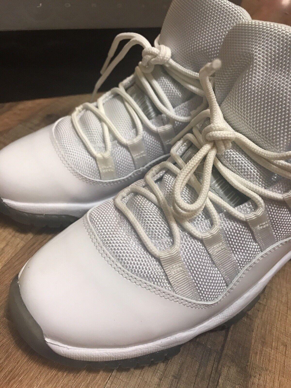 2010 Nike Air Jordan 11 25TH RETRO 25TH 11 ANNIVERSARY SUPREME 378038 101  SIZE 4.5 Y 914e9d